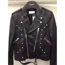 49 off saint laurent jackets u0026 blazers ysl slp woman leather