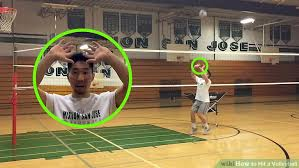 Hit The Floor Main Characters - 5 ways to hit a volleyball wikihow