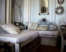 Rustic Vintage Bedroom Ideas Rustic Chic Bedroom Green Fur Rug On Wooden Floor White Wooden