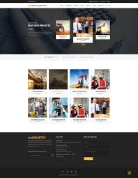Industrial Theme by Digital Industry Industrial Business Html Template By Cowthemes