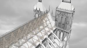 amiens cathedral in cross section youtube