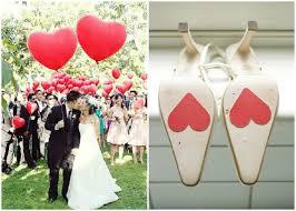 hochzeit ideen pink rot valentinstag hochzeit ideen herz liebe hochzeiten