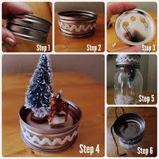 diy light up mason jar christmas scene