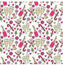 new year wrapping paper year pattern christmas wrapping paper vector image