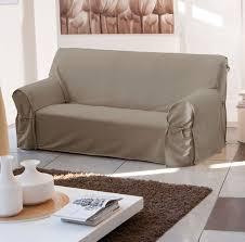 housse de canapé trois places housse de canape 3 places avec accoudoir canapé idées de
