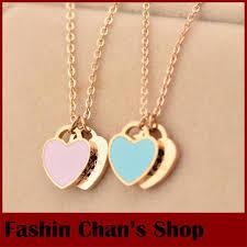 gold necklace simple design images Online shop fashion and elegant 2015 simple design oem words blue jpg