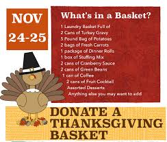 thanksgiving basket drive archives simple