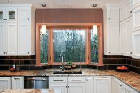 Valances For Kitchen Bay Window Philadelphia Bay Window Valance Home Office Transitional With
