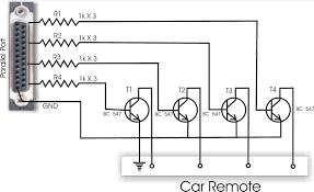 Simple Circuit Diagrams Beginners Computer Control Rc Car Circuit Diagram Radio Control Diy