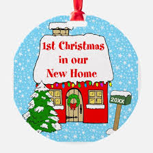 new home ornament cafepress