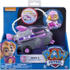 paw patrol skye u0027s rocket ship walmart com