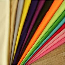 Silk Drapery Fabric By The Yard Polyester Lining Fabric Silk Habutae 60