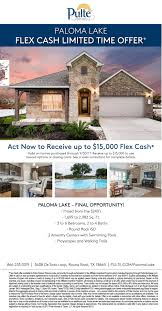 Old Pulte Floor Plans by Paloma Lake In Round Rock Tx New Homes U0026 Floor Plans By Pulte Homes