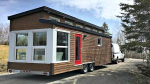 contemporary modern tiny home bright living space small home