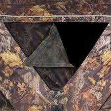 2 3 person camouflage hunting blind ground deer archery outhouse