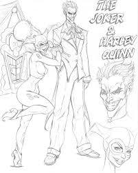 joker and harley quinn cd sk001 by nathanscomicart on deviantart