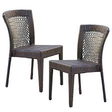 patio chair stackable wicker patio chairs target