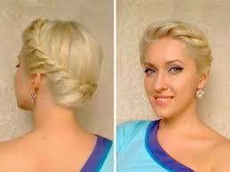 Sch E Hochsteckfrisurenen F Locken by Goddess Crown Braid Tutorial Twisted Prom Updo Hairstyle