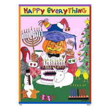happy everything happy everything print by dug nap
