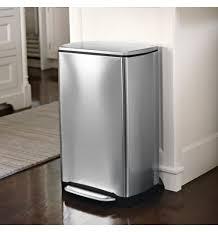 rangement poubelle cuisine poubelle cuisine acier brossé 38 l rangement de la cuisine