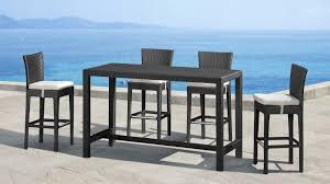 Modern Outdoor Dining Set by Modern Outdoor Bar Table Wbir Cnxconsortium Org Outdoor Furniture