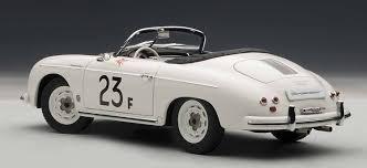 porsche speedster james dean autoart 77865 porsche 356 speedster 23f white diecast car 1 18 ebay