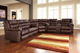 leather corner recliner sofa reclining leather sectionals