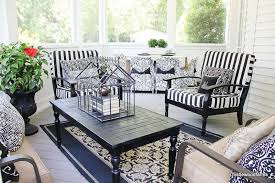 Screened In Porch Decor Spring Porch Decorating Thistlewood Farm