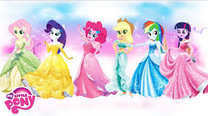 pony equestria girls transform disney princess