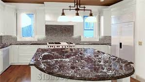 Red Kitchen Countertop - agreeable red marble kitchen countertops lovely kitchen design