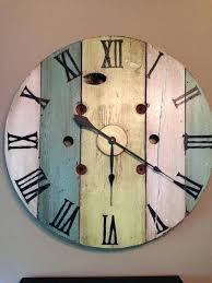 horloges murales cuisine horloges murales cuisine bois horloge murale daccoration feuille