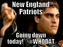 Funny New England Patriots Memes - patriots going down quickmeme