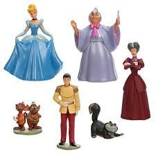 disney cinderella 6 play set toys