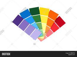 paint chip color wheel image u0026 photo bigstock