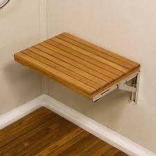 Wall Mounted Folding Shelf Fold Up Bench Seat Bench Decoration
