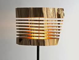 out of the ashes comes light reclaimed wood light sculpture