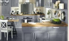 cuisine en bois gris cuisine beige et bois cuisine photo cuisine with cuisine beige