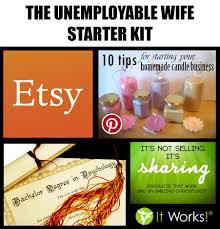 unemployable wife starter kit starterpacks