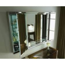espresso medicine cabinet with mirror rbic4838lbe c series tri view medicine cabinet mirror at modern 60