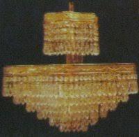 Cut Glass Chandeliers Mughal Style Elegant Cut Glass Chandeliers In Ballygunge Circular