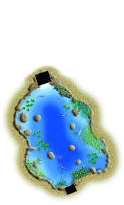 large pond kit 21 u0027 x 26 u0027 backyard pond kits water garden