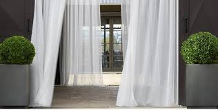 Outdoor Sheer Curtains For Patio Outdoor Drapery Rh