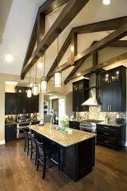 kitchen lighting ideas vaulted ceiling pendant lighting for vaulted ceilings karishma me