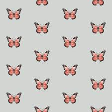 monarch butterfly fabric simple butterflies design