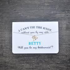 be my bridesmaid cards aliexpress buy bridesmaid card bridesmaid necklace will you