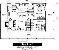 Cottage Floor Plans One Story Small Log Cabin Floor Plans Tiny Time Capsules