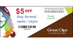 fiesta hair salon printable coupons coupons for great clips hair salon athena limousine coupon