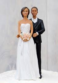 black wedding cake toppers stylish contemporary mix and match groom cake topper
