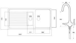 kitchen sink dimension u2013 meetly co