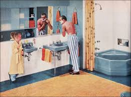 Better Homes And Gardens Bathroom Ideas Colors 129 Best Bathrooms Vintage Images On Pinterest Bathroom Ideas